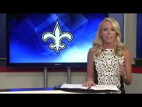 Kelsey Wingert anchoring at KALB 10/07/15
