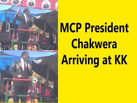 MCP President Chakwera Speech at KK