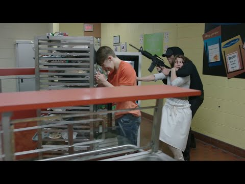 "School Shooting - scene from ""19-2"" TV show (one long take, no cuts)"