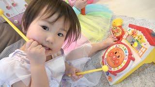 アンパンマンのおもちゃとおいしいケーキでサプライズバースデーパーティ 2nd surprise birthday party