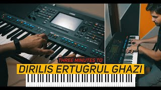 Three Minutes To DIRILIS ERTUGRUL GHAZI | PIANO COVER  Mansoor Qureshi MAANi