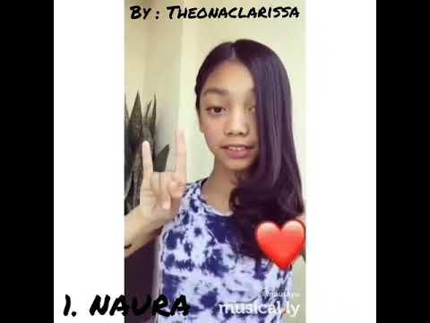 🦄 Naura Ayu VS Zara Leola | Musically 💐