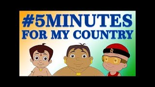 Chhota Bheem - 5 Minutes for My Country | Happy Independence Day