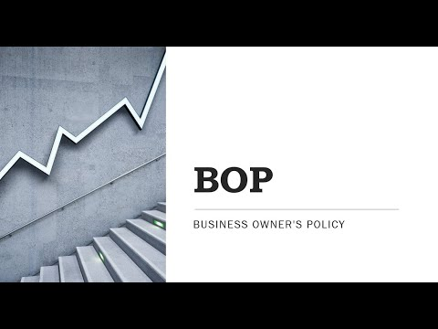 Business Owners Policy Preview