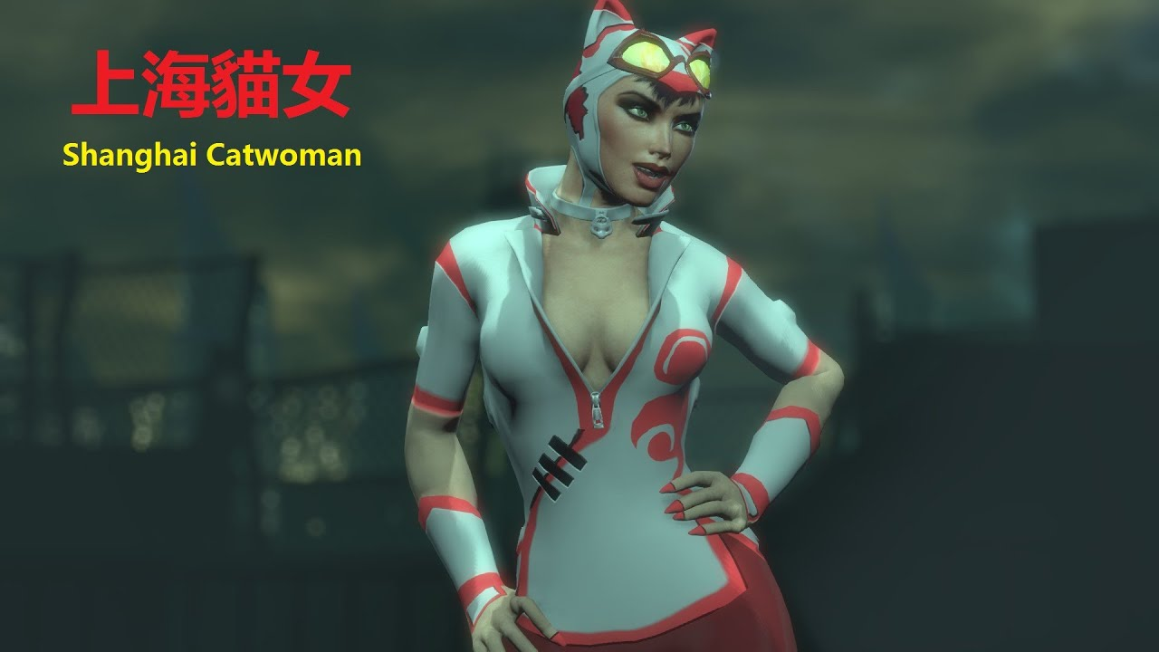 SKIN; Batman; Arkham City; Shanghai Catwoman - YouTube