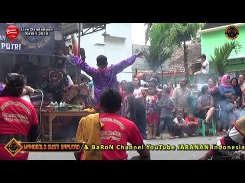 Lagu Jaranan KEPALING Voc Wulan | MANGGOLO GUSTI SAPUTRO Live Dandangan 2018