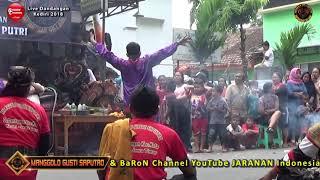 Lagu Jaranan KEPALING Voc Wulan   MANGGOLO GUSTI SAPUTRO Live Dandangan 2018