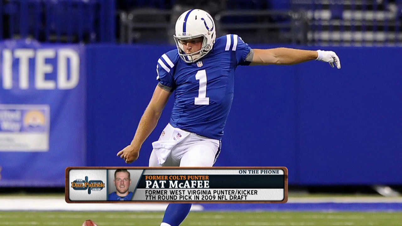 factory price 3f606 91f8c Pat McAfee breaks down why he chose to retire 02/02/2017