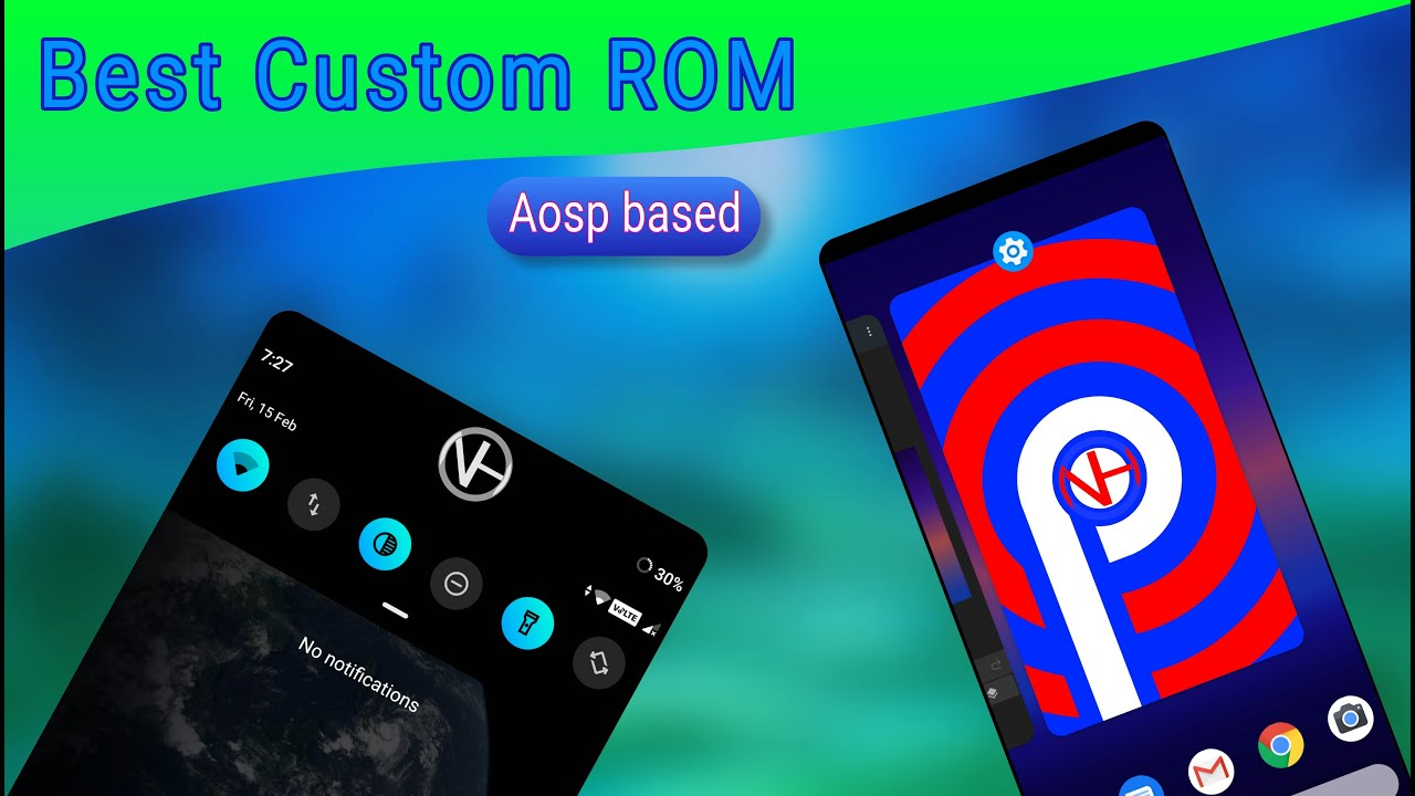 Best Custom ROM   {Pie}   for many devices   Aosp based   NH Soft
