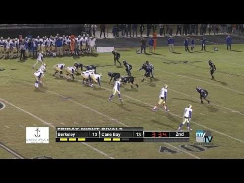 Berkeley vs. Cane Bay: Friday Night Rivals Game of the Week
