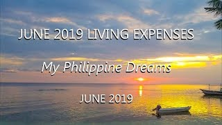 Cost of Living in the Philippines:  June 2019 Monthly Expenses Update