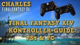FFXIV Kontroller Guide PS4 & PC / Settings, Zielanwahl , Sets sperren, uvm