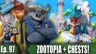 ZOOTOPIA QUEST AND CHEST OPENINGS! - Disney Magic Kingdoms Gameplay - Ep. 97