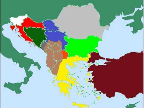 great balkan states