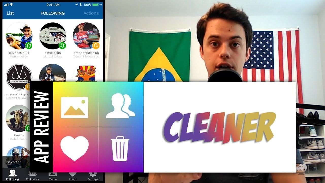 Cleaner - Bulk Unfollow Tool for Instagram