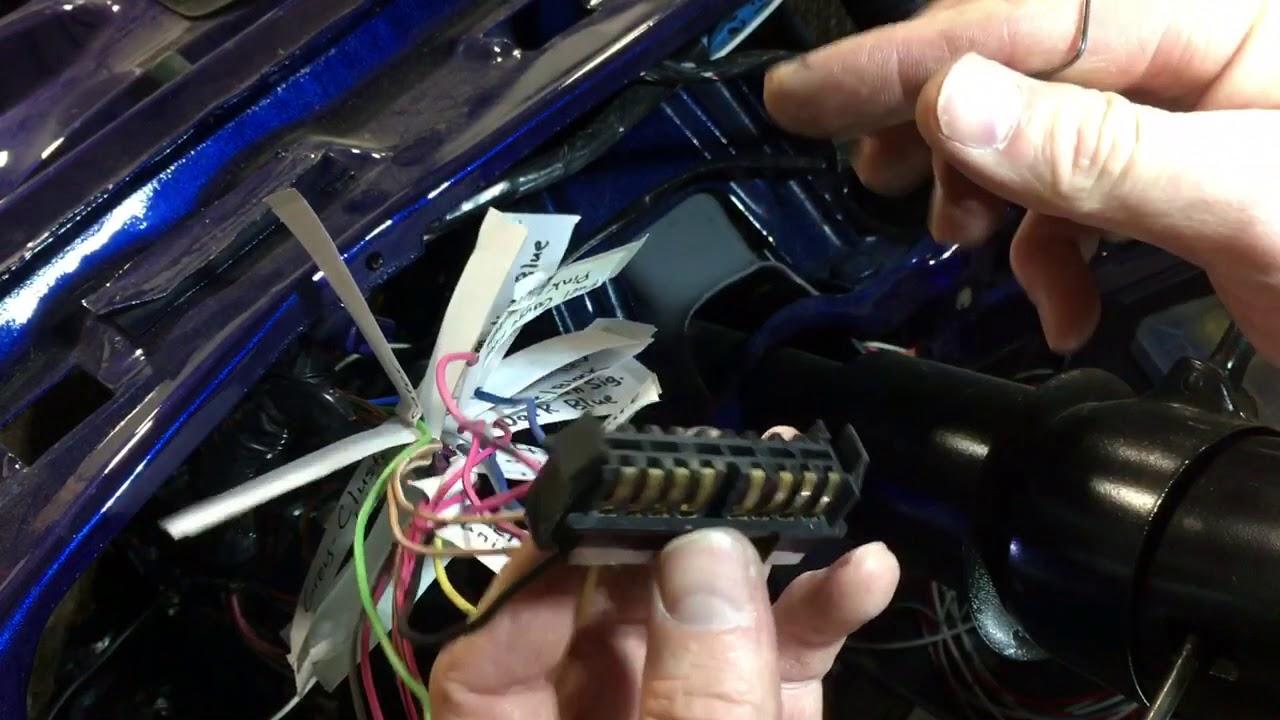1980 ls k5 electric speedo 1990 91 wire up [ 1280 x 720 Pixel ]