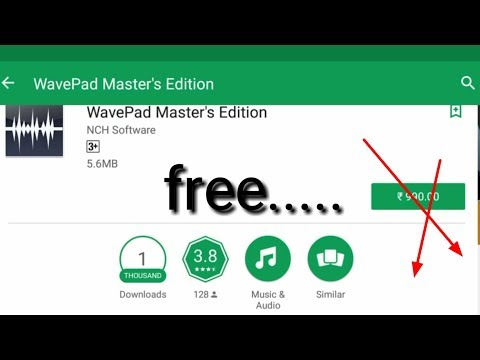 How download wavepad master edition for free - YouTube