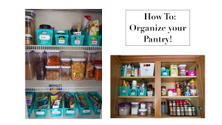 Pantry Organization: Dollar Tree Bins