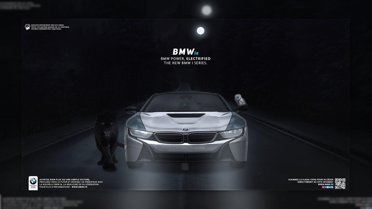 BMW I8 Advertisement | SpeedArt #BMW - YouTube