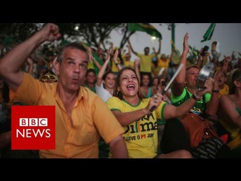 Dilma Rousseff loses impeachment vote - BBC News