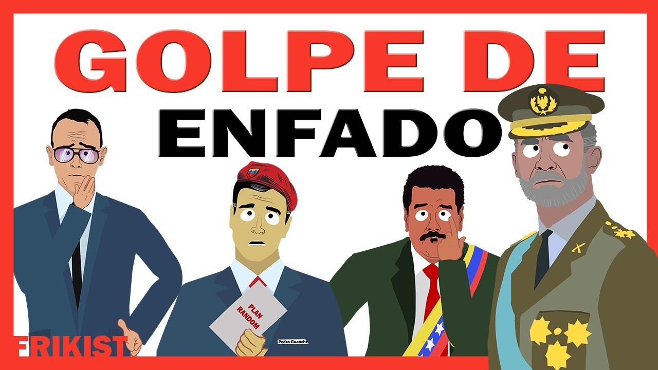 GOLPE DE ENFADO. Parodia política española. Animación y humor.
