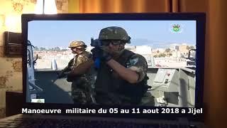 rafaa 156 JDZ : Manoeuvre de l´ANP avec l´armee Iranienne a Jijel du ...