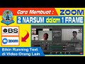 Tutorial OBS to ZOOM : OBS Windows Capture Multi View | Membuat Running Text di Orang Lain