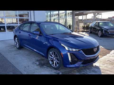New 2020 Cadillac CT5 Sport Review GSL GM City   Calgary