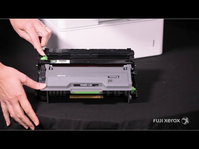 How To Replace And Clean The Drum Cartridge Docuprint M 375df En Youtube