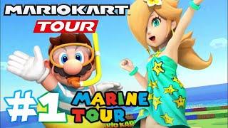 Mario Kart Tour: MARINE TOUR is here!! - Part 1