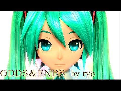 [60fps Full風] ODDS&ENDS - Hatsune Miku 初音ミク Project DIVA Arcade English lyrics Romaji subtitles PDA