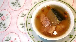 Double Boil Winter Melon Soup 炖冬瓜排骨汤