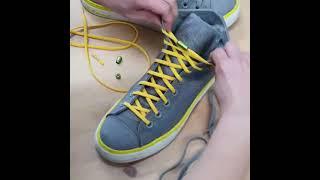 메이투 매듭없는 캡슐 신발끈 정리 묶는법