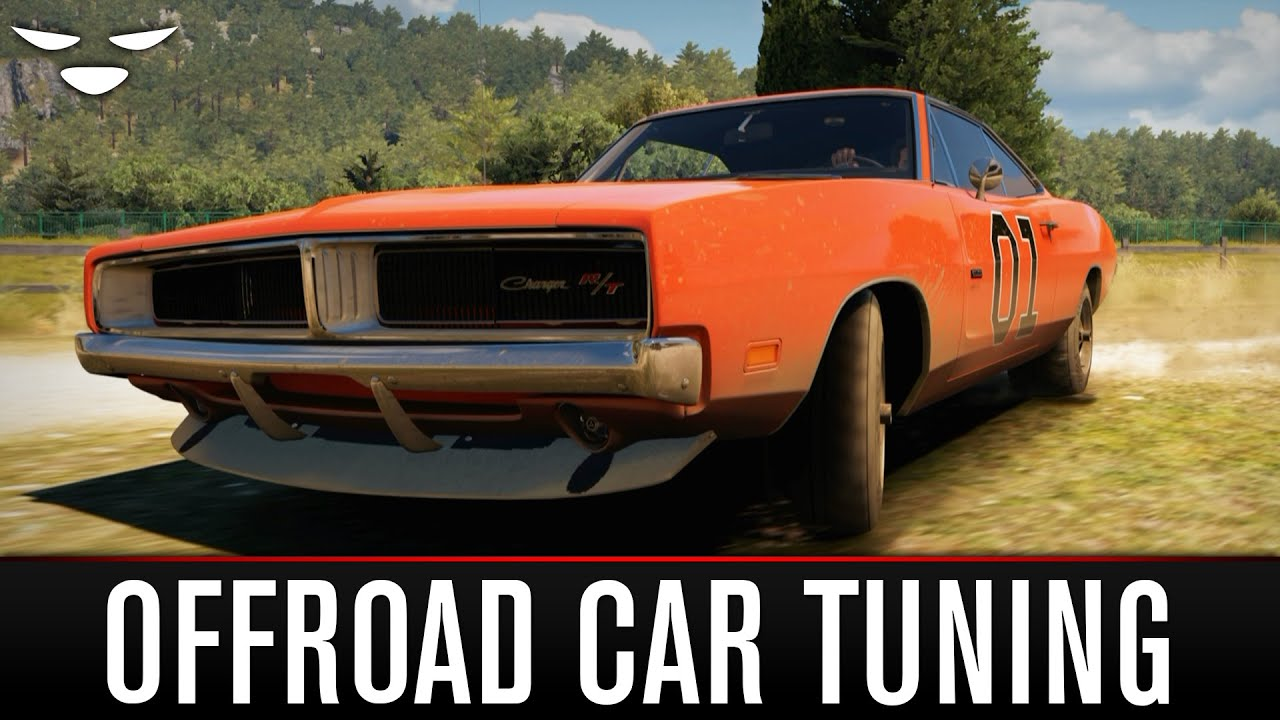 forza horizon 2 offroad tuned general lee dodge charger. Black Bedroom Furniture Sets. Home Design Ideas