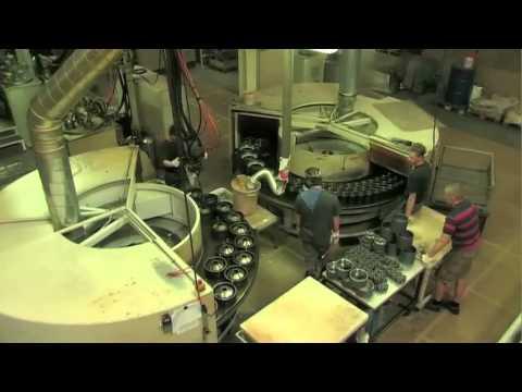 A WHEEL IS BORN - polyurethane wheel production at RÄDER-VOGEL®