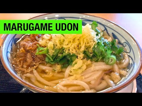 Marugame Udon: An Authentic Japanese Noodle Experience in San Francisco