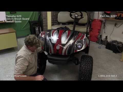 "Yamaha G29 ""Drive"" Brush Guard 