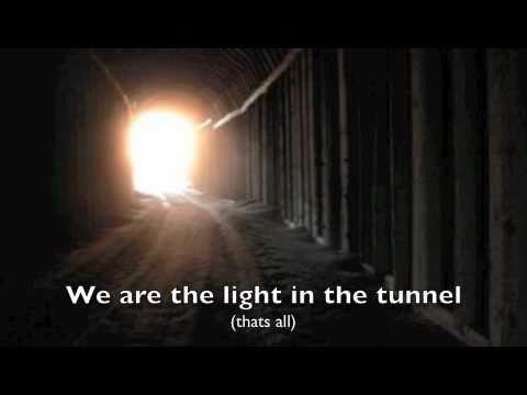 The Used ~ Tunnel (lyrics on screen)