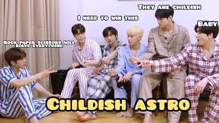 Astro (아스트로) Being Childish.