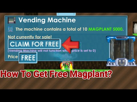 How To Get FREE Magplant! [FREE] OMG - Growtopia