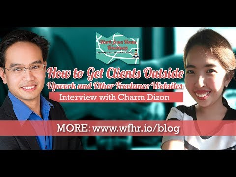 🔴 How to Get Clients Outside Upwork and Other Freelance Websites | Charm Dizon | JasSuccess 003