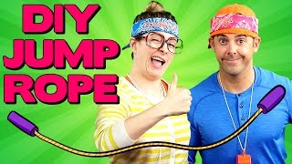 DIY Jump Rope with Jim Class! | Arts and Crafts with Crafty Carol