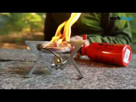 How to maintain your MSR Simmerlite Stove