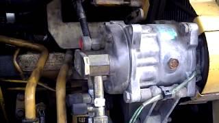 Caterpillar M315 2001 moteur