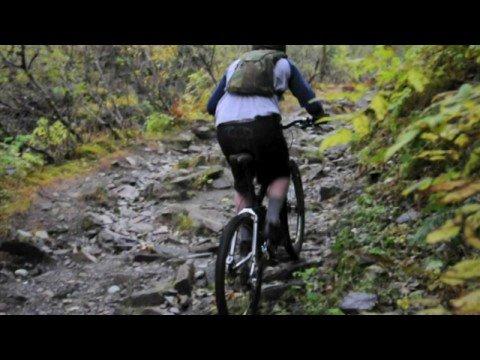 Ridin' Perseverance Trail, Juneau, Alaska