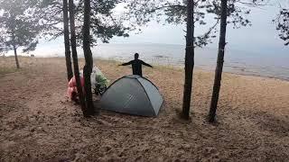 Велопутешествие по Карелии вокруг озера Ладога
