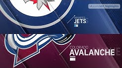 Winnipeg Jets vs Colorado Avalanche Apr 4, 2019 HIGHLIGHTS HD