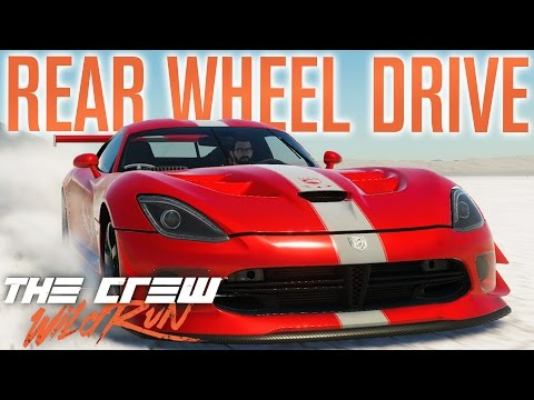 REAR WHEEL DRIVE! | The Crew Wild Run Gameplay w/ The Nobeds