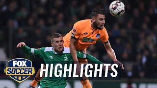Werder Bremen vs. 1899 Hoffenheim | 2018-19 Bundesliga Highlights