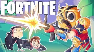 CAN VANOSS CLUTCH THE WIN FOR THE TEAM? (Fortnite Battle Royale Funny Moments)
